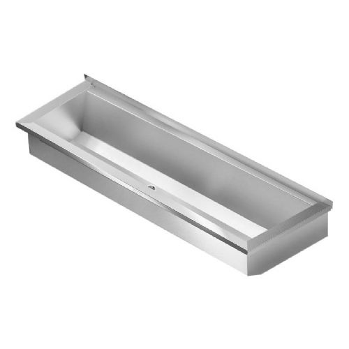 Franke PLANOX PL8-UK 800mm Stainless Steel Wash Trough (No Tap Holes)